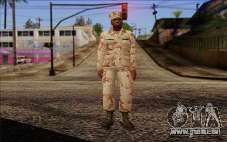 California National Guard Skin 2 für GTA San Andreas
