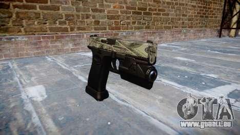 Pistolet Glock 20 benjamins pour GTA 4