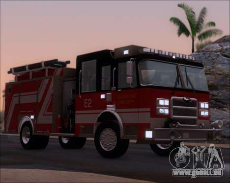 Pierce Arrow XT TFD Engine 2 pour GTA San Andreas vue de dessous