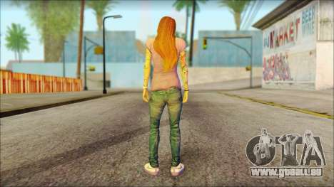 Valentine Girl pour GTA San Andreas deuxième écran