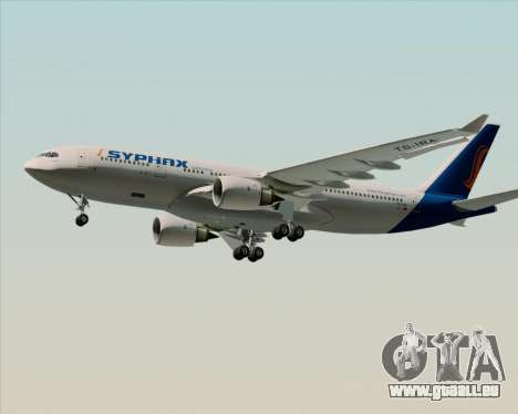 Airbus A330-200 Syphax Airlines pour GTA San Andreas salon