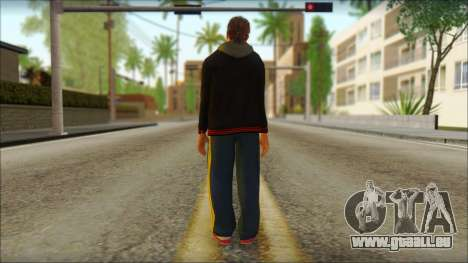 GTA 5 Ped 20 pour GTA San Andreas deuxième écran