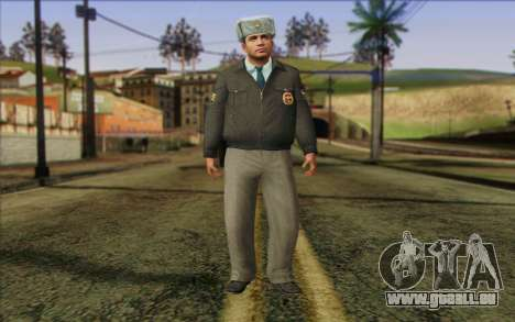 La Police De La Russie De La Peau 3 pour GTA San Andreas
