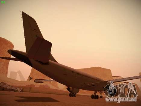 Airbus A310 MRTT Luftwaffe (German Air Force) für GTA San Andreas Innen