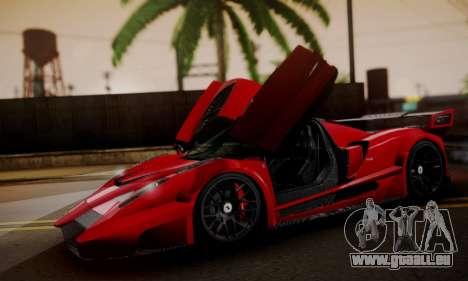 Ferrari Gemballa MIG-U1 pour GTA San Andreas vue de droite