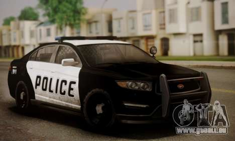 Vapid Police Interceptor from GTA V für GTA San Andreas