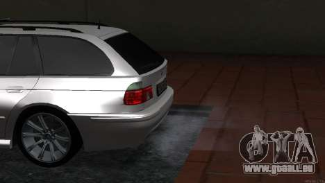 BMW 530d für GTA San Andreas rechten Ansicht