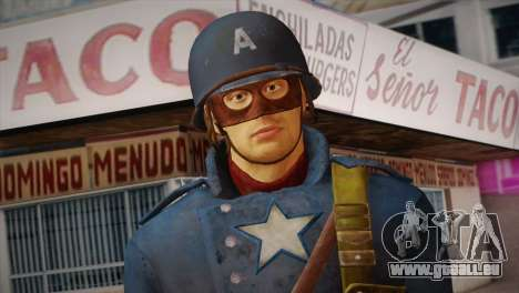 Captain America v2 für GTA San Andreas dritten Screenshot