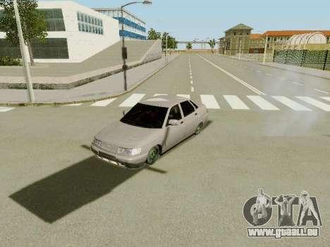VAZ 2110 pour GTA San Andreas vue de côté