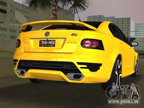 Holden HSV GTS 2011 für GTA Vice City linke Ansicht