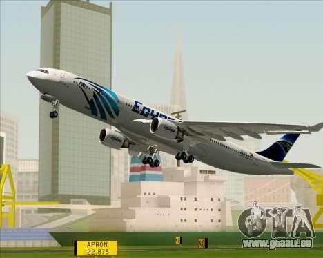 Airbus A330-300 EgyptAir für GTA San Andreas Räder