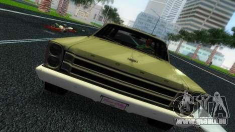 Ford Country Squire für GTA Vice City Rückansicht