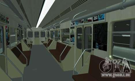 Eine neue U-Bahn-station in San Fierro für GTA San Andreas elften Screenshot
