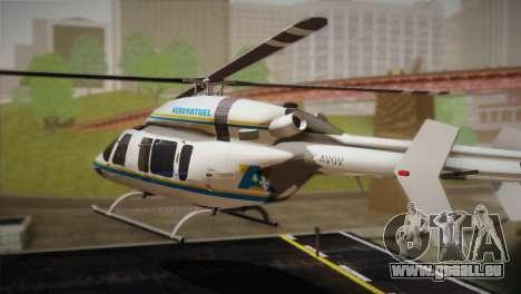 Bell 429 v1 für GTA San Andreas linke Ansicht