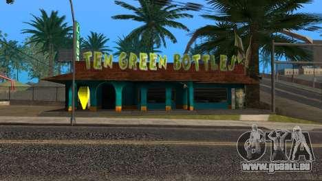 La nouvelle barre en Ganton pour GTA San Andreas cinquième écran