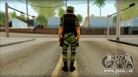 Skin Sedena Secretaria De La Defensa Nacional pour GTA San Andreas deuxième écran