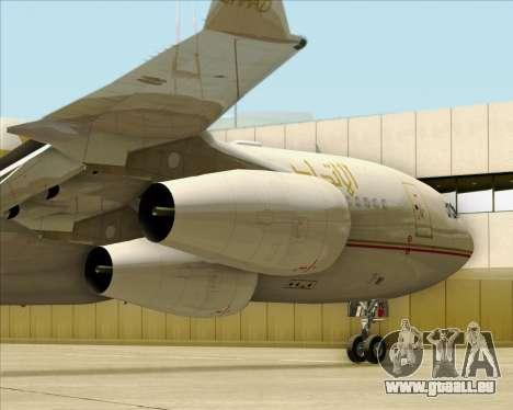 Airbus A340-313 Etihad Airways für GTA San Andreas Seitenansicht