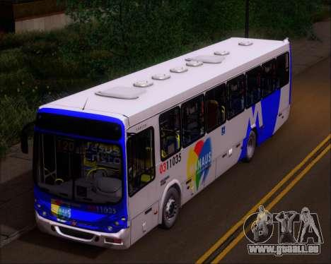 Marcopolo Torino 2007 Volksbus 17-230 EOD für GTA San Andreas Rückansicht