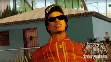 Eazy-E Red Skin v2 für GTA San Andreas dritten Screenshot