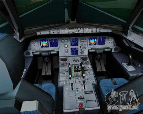 Airbus A321-200 TAM Airlines für GTA San Andreas Innen