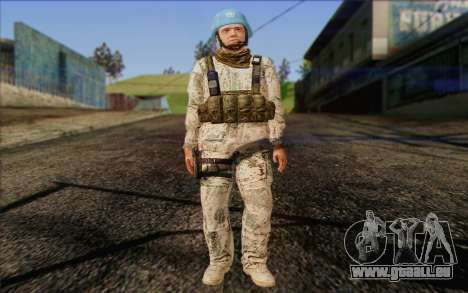 Deutsche Peacemaker für GTA San Andreas