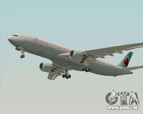 Airbus A330-300 Air Canada pour GTA San Andreas vue de côté