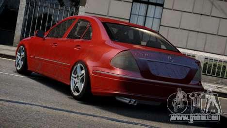 Mercedes-Benz E320 für GTA 4 hinten links Ansicht