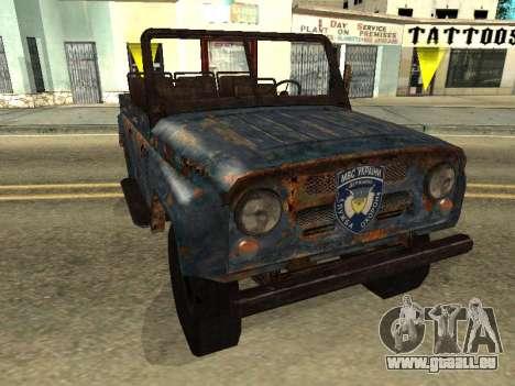 La Police UAZ de Stalker pour GTA San Andreas