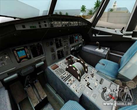 Airbus A320-232 British Airways pour GTA San Andreas roue