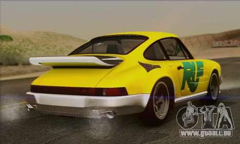 RUF CTR Yellowbird 1987 pour GTA San Andreas moteur