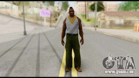 MR T Skin v4 pour GTA San Andreas