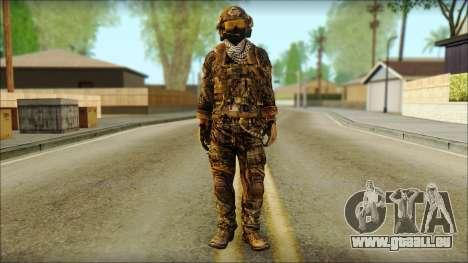 Combattant OGA (MoHW) v3 pour GTA San Andreas