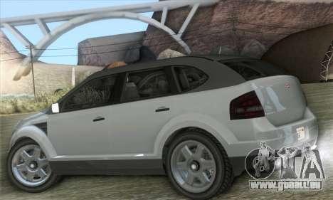 Vapid Radius 1.0 (HQLM) pour GTA San Andreas laissé vue