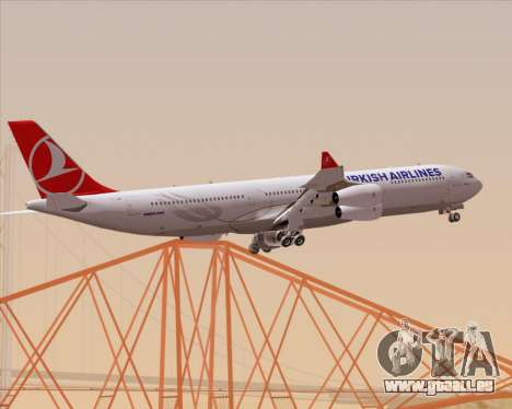 Airbus A340-313 Turkish Airlines pour GTA San Andreas