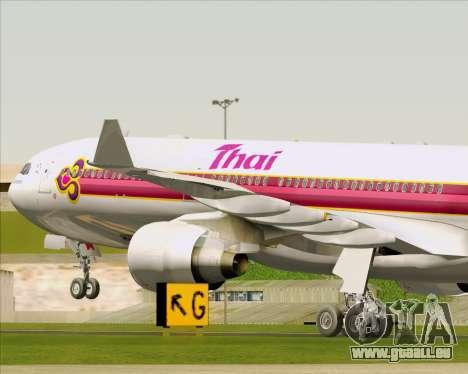Airbus A330-300 Thai Airways International für GTA San Andreas Räder