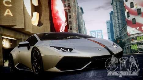 Lamborghini Huracan LP850-4 2014 Wheelsandmore pour GTA 4 Vue arrière