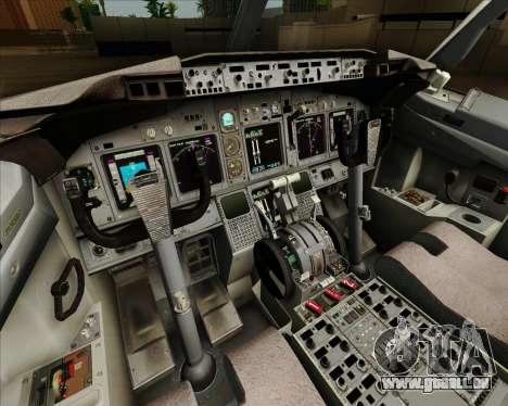 Boeing 737-890 Alaska Airlines für GTA San Andreas Innen