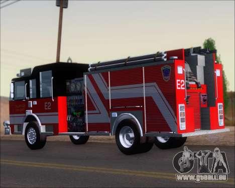 Pierce Arrow XT TFD Engine 2 für GTA San Andreas rechten Ansicht
