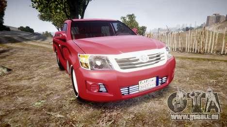 Toyota Hilux 2014 pour GTA 4