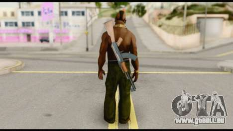 MR T Skin v5 pour GTA San Andreas deuxième écran