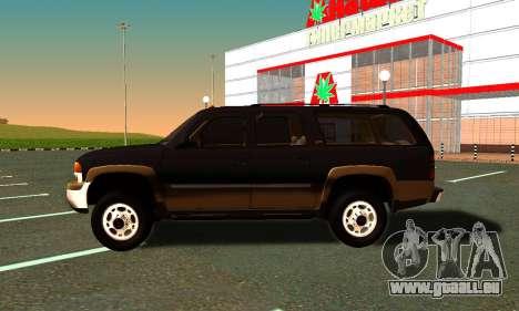 GMC Yukon XL ФСБ pour GTA San Andreas vue de droite