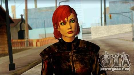 Mass Effect Anna Skin v6 pour GTA San Andreas troisième écran