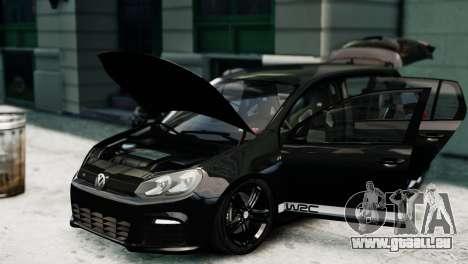 Volkswagen Golf R 2010 Polo WRC Style PJ1 pour GTA 4 est un droit