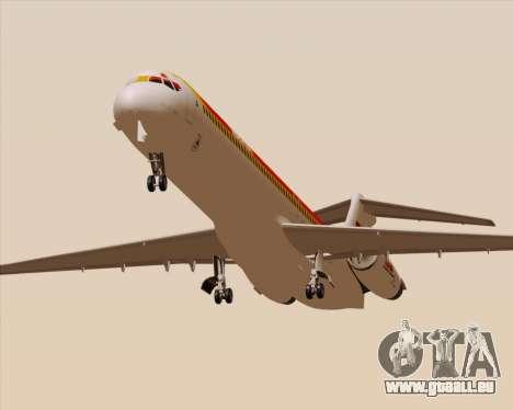 McDonnell Douglas MD-82 Iberia pour GTA San Andreas vue intérieure