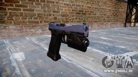 Pistole Glock 20 blue tiger für GTA 4