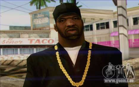 N.W.A Skin 2 pour GTA San Andreas troisième écran