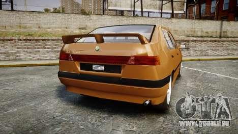 Alfa Romeo 33 1991 pour GTA 4 Vue arrière de la gauche