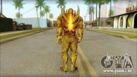 Dark Kahn from MK vs DC pour GTA San Andreas deuxième écran