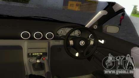 Nissan Silvia S15 TUNING JDM für GTA Vice City Rückansicht