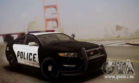 Vapid Police Interceptor from GTA V pour GTA San Andreas